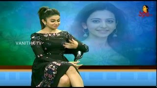 Rakul Preet Singh Excellent Singing Talent    #Sarrainodu    Vanitha TV