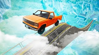 INSANELY MASSIVE RAMP JUMP! (BeamNG Drive)