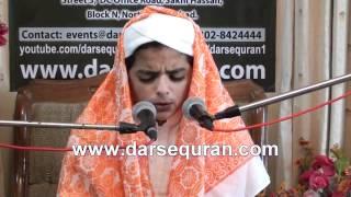 Qirat - Little Boy Islamic program Darsequran.com - 4 March 2012
