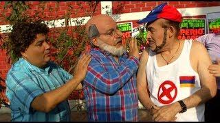 El tío Lisuratás salió en defensa de un venezolano vendedor de arepas en El Wasap de JB