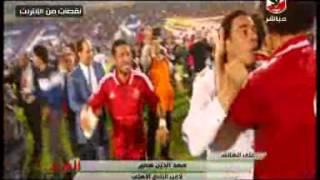 حديث كوميدى بين رمضان صبحى و سعد سمير على الهواء