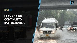 Mumbai rains: Downpour and waterlogging cause traffic snarls in the city
