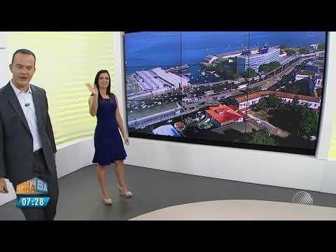 Encerramento do Jornal da Manhã BA com Ricardo Ishmael e Thaic Carvalho (05/03/2018)