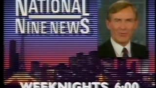 It's As National Nine News Promos 1989