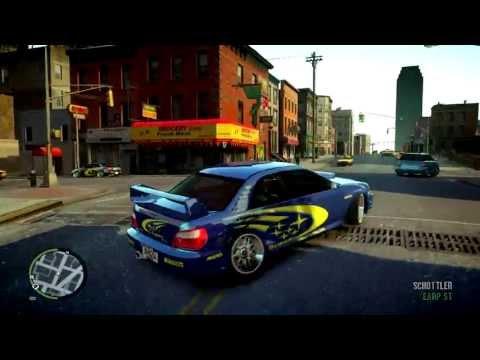 Subaru Impreza WRX STI Sport Car for GTA IV