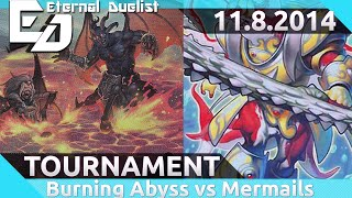 Burning Abyss vs Mermail Post NECH Brother's Grim Local Tournament Round 2