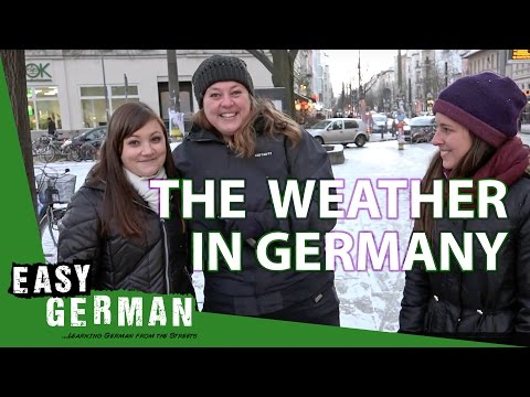 watch Easy German 177 - The Weather in Germany