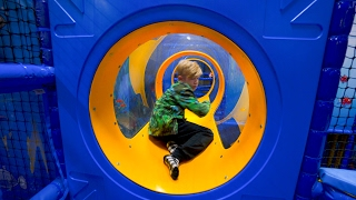 Playground Fun for Kids at Exploria Center Indoor Play Area
