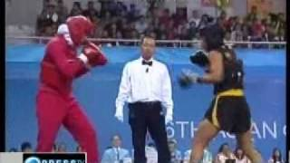 Khadijeh Azadpour gold medal & Women sport in Iran