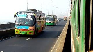 (Hd) Sundarban Express train running beautifully on Bangabandhu Bridge/jamuna Bridge/Jamuna Setu