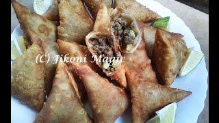 Samosa Recipe - How to Make Kenyan Samosas Part 1-Jikoni Magic