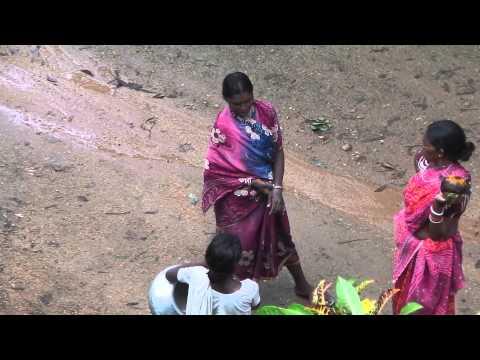 Ananda Nagar Indigenous Indian Village Women Chatting Kinesthetically