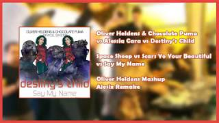 Space Sheep vs Scars To Your Beautiful vs Say My Name (Oliver Heldens Mashup) [Alesix Remake]
