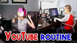 YouTube Morning Routine