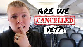 SEVERE TURBULENCE + FLYING W/ MY HUSBAND   FLIGHT ATTENDANT VLOG #8 2019