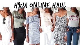 H&M Haul & Lookbook   Dresses, Denim & Graphic Tees #HAULWEEK   Style With Substance