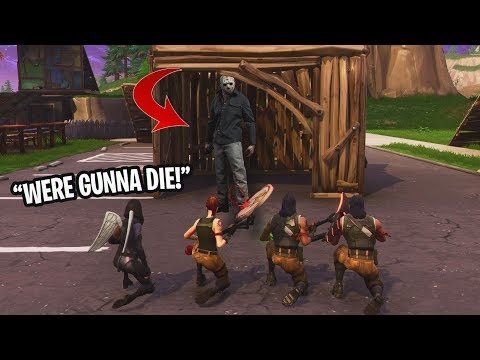 FIRST EVER Fortnite Friday the 13th NEW GAMEMODE PLAYGROUND MODE IS INSANE Custom