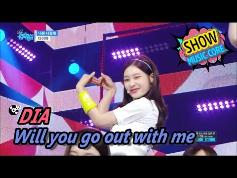 Xxx Mp4 HOT DIA Will You Go Out With Me 다이아 나랑 사귈래 Show Music Core 20170520 3gp Sex