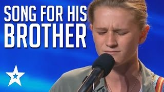 Brave & Emotional Song For His Brother | Fletcher Pilon Audition Australia