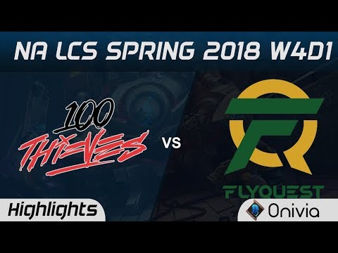 Xxx Mp4 100 Vs FLY Highlights NA LCS Spring 2018 W4D1 100Thieves Vs Flyquest By Onivia 3gp Sex