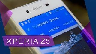 Sony Xperia Z5 [Análise] – TecMundo