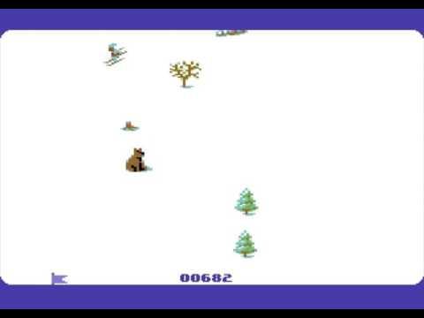 C64 Game - Super Ski (NEW RELEASE)