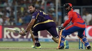 IPL 2016| Kolkata Knight Riders vs Gujarat Lions| Yusuf, Shakib Power KKR To 158/4 Against GL