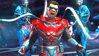 Injustice 2 - All Super Moves on Nightwing (1080p 60FPS)