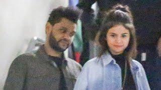 Selena Gomez Rocks the Weeknd