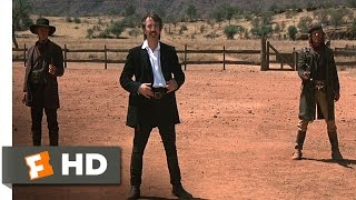 Quigley Down Under (8/11) Movie CLIP - Marston Challenges Quigley (1990) HD