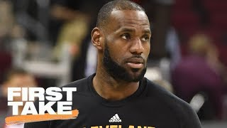 Warriors Sweep Would Take Away LeBron's Title As The Best | First Take | June 7, 2017