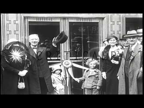Official opening of the Empire State