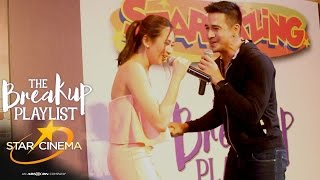 Highlights: Piolo and Sarah's kilig performances at 'The Breakup Playlist' mall shows