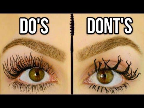 Mascara Mistakes To Avoid Do s & Don ts of Mascara