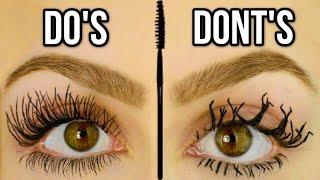 Mascara Mistakes To Avoid! Do's & Don'ts of Mascara!