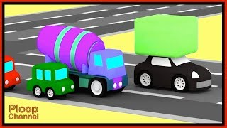 Cartoon Cars - BLACK BLOCK ROBBER! - Cartoons for Children - Children