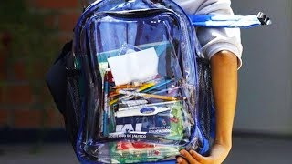 Florida's Solution To Solve School Shootings: Clear Backpacks