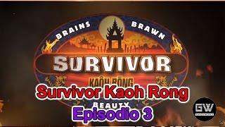 Survivor Kaoh Rong - Episodio 3 EN VIVO en YouNow March 2, 2016