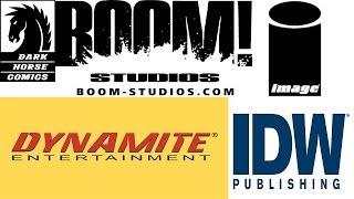 Comic Book Talk - Comic Book Verity besides DC & Marvel