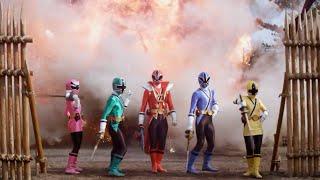 Power Ranger Samurai: El choque de los rangers rojos | Batalla - Ranger rojo modo tiburon
