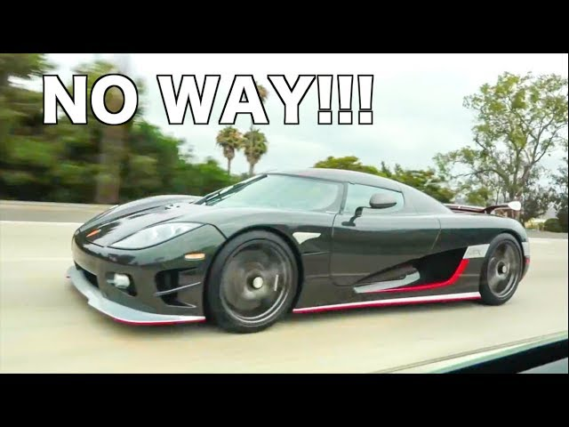 800HP Lambo vs Koenigsegg CCXR *SHOCKING RESULTS*