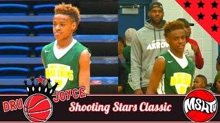 LeBron James Jr is BECOMING A BEAST - Dru Joyce Shooting Stars Classic Mixtape