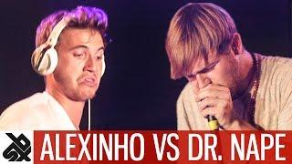 ALEXINHO vs DR.NAPE   WBC Loopstation Battle   Semi Final