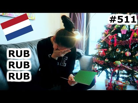 SEXUAL RACIST CHRISTMAS GIFTS OPENING AMSTERDAM DAY 511 TRAVEL VLOG IV