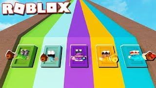 Roblox Adventures - SLIDE BOX RACING TOURNAMENT! (Ultimate Box Racing)