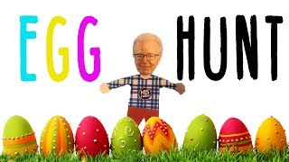 How Many Easter Eggs Can Jim Mann Find in One Minute?