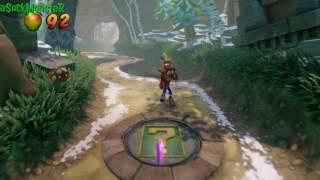 UnBearable - Clear Gem(All Boxes) - Crash Bandicoot 2