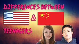 Differences Between American and Chinese Teenagers! (Part 1)