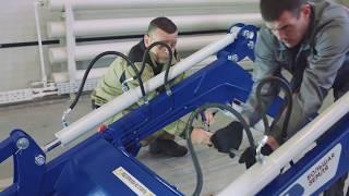 Инструкция по установке погрузчика Универсал 800 с БРС с трактора и БРС рабочих органов на МТЗ 82