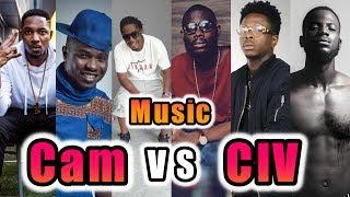 🔵 RAP MUSIC 😎Côte D'Ivoire VS Cameroun - Game #2